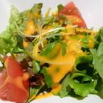 バルネア グリル - セットのサラダ