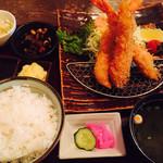 こくりこ - エビフライ定食¥1,300
