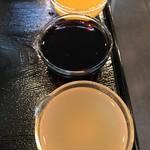 天然氷蔵元 阿左美冷蔵 - 【2017.5.11】果汁スペシャルのシロップ。