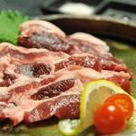 米とサーカス - 猪ロースのシンプル塩焼き