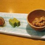 Satou - 前菜3種