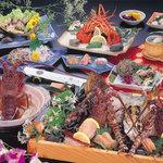 秀丸 花ごころ - 料理写真:漁師町石鏡(いじか)の海の幸を堪能!!!海の王者づくし