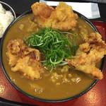 極楽うどん TKU - 鶏天カレーうどん 954円