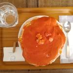 67303274 - トマトとマスカルポーネ