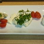 ギンザ オリーバル - 3種類のチーズの盛合せ