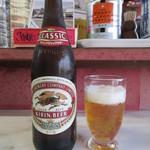 天水 - ドリンク写真:ビールセット 900円のビール(中瓶)