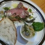 サユ - パスタセットの前菜