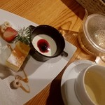 サユ - セットのデザート