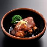 黒豚料理 あぢもり - 黒豚豚足です