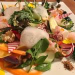 オレンジ - 旨野菜と鮮魚のオードヴル