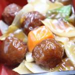 華苑 - 料理写真:Aランチの甘酢肉団子