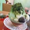 うめのま - 料理写真:抹茶ぜんざいかき氷