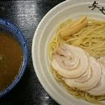 67312345 - 魚介とんこつつけ麺、満足の美味しい一杯。