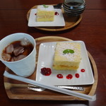 おうちごはん Cafeそらまめ - ◆+¥300、ケーキセット が付きます。
