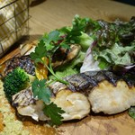 67313122 - (2017/3月)鰆の岩塩焼き 旬野菜のグリル添え