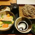 どん亭 - 海鮮丼定食 850円+税