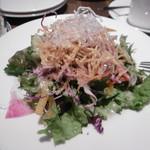 La Zucca di napoli - ランチのサラダ