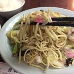 長崎飯店 - 麺リフトしてみました