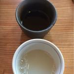 67316700 - 蕎麦湯です。