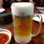 焼肉 白雲台 - 乾杯〜