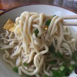 麺家 にらい - 《なんこつソーキそば・小》500円 2017/5/21