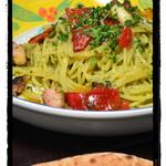 カフェレストラン エピソード - タコと野菜のパスタ