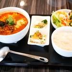 67321359 - テグタン温麺セット¥980