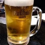 大院閣 - 生ビール