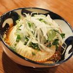 67321661 - 豆腐の薬味サラダ(580円+税)2017年5月