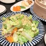 ギョウザ オウショウ - 春野菜のペペロンチーノ