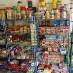 カフェと印度家庭料理 レカ - レカ 葛西本店 @東葛西 店内 食材物販棚