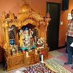 カフェと印度家庭料理 レカ - レカ 葛西本店 @東葛西 2階の江戸川インド文化センターに置かれるガネーシャの神棚 ガネーシャだけで75Kgあるそ~です