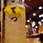 こてつ - レモンサワーは4種類。