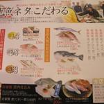 マルトイチ魚安商店 - お勧めメニュー