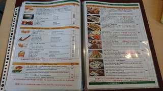 カフェと印度家庭料理 レカ - レカ 葛西本店 @東葛西 メニュー