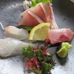 四季亭 - 屋久島おまかせ定食のお刺身