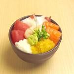 どんぶり茶屋 - さざ波丼 1000円