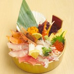 どんぶり茶屋 - 北の贅沢丼 3280円