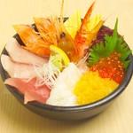 どんぶり茶屋 - 大漁丼 1980円