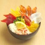 どんぶり茶屋 - 漁場丼 1380円