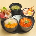 どんぶり茶屋 - 丸鮮丼 3480円