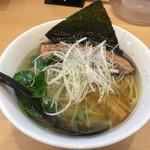 らーめん工房 麺作 - 塩そば(750円)