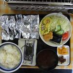 はまぐりプラザ - 赤須賀定食