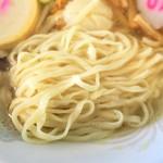 宗谷岬間宮堂 - 麺(平打ち麺)