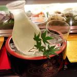 金沢まいもん寿司 梅鉢亭 - 冷酒、酔ってしまい銘柄忘れた(笑)