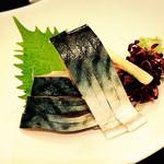 金沢まいもん寿司 梅鉢亭 - 〆さば、〆方が甘いのは地域性かな