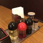 吉田飯店 - 卓上
