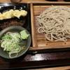 嵯峨谷 - 料理写真:ちくわ天もりそば400円