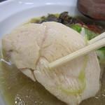 麺匠あじゃり - 鶏チャーシュー