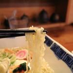 玉響 - 好みの細麺です
